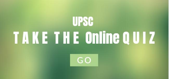 UPSC prelims online quiz