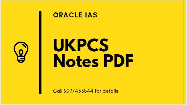 UKPCS Notes PDF
