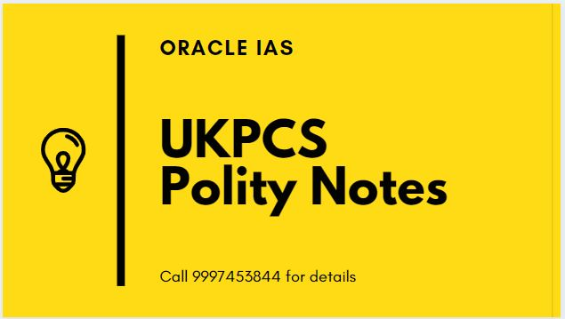 UKPCS Polity notes PDFs